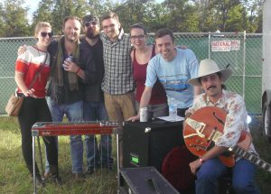 KHDX and the Swampbird gang at Harvest Fest 2014