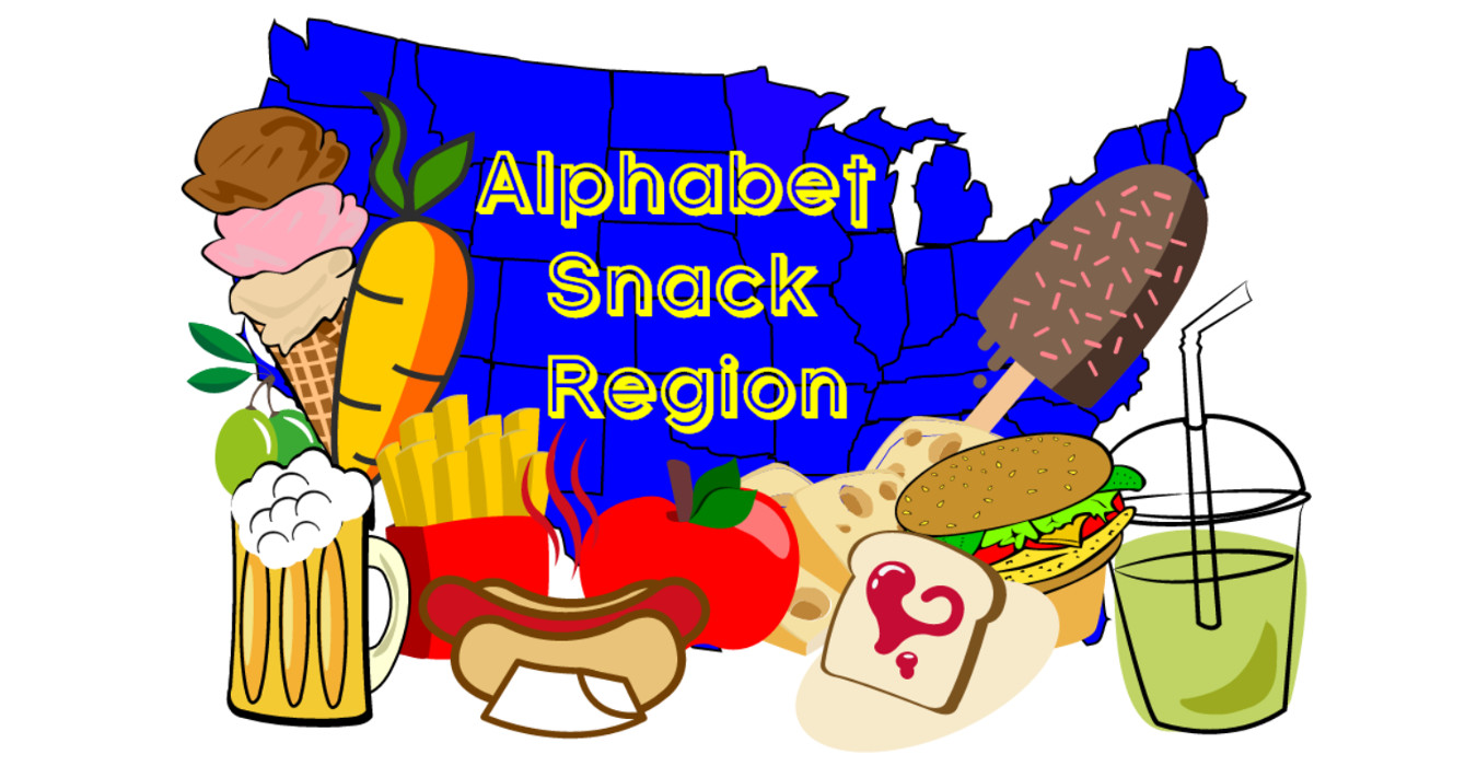 Alphabet Snack Region