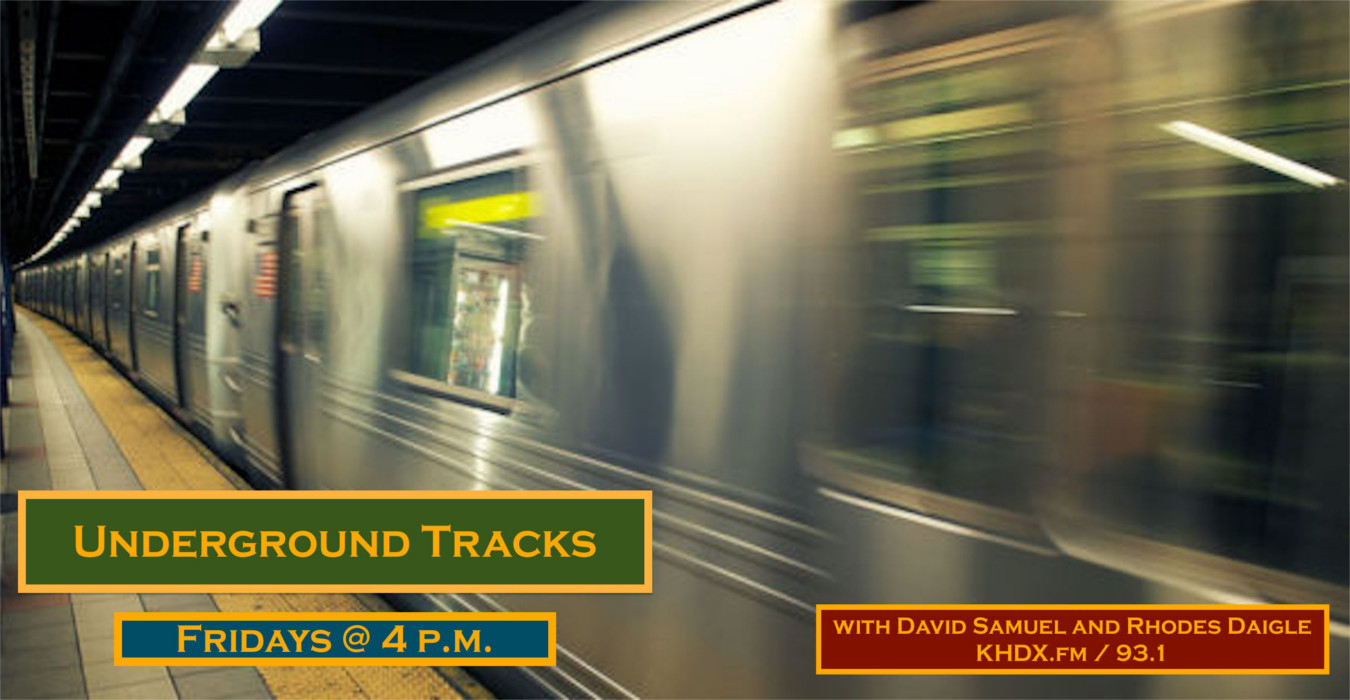 Underground tracks poster khdx radio for Classic underground house tracks