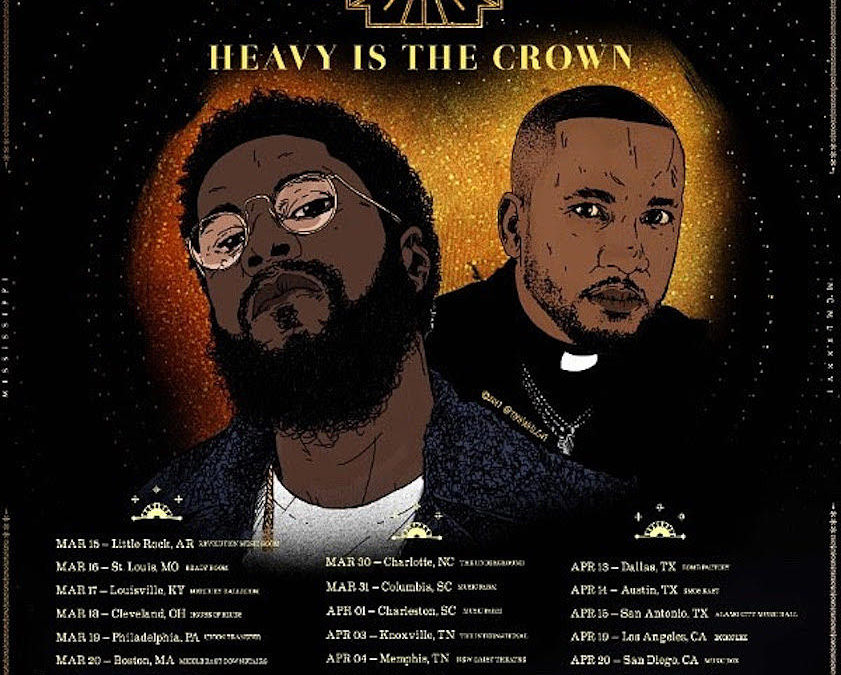 DJ Bruh Bruh Spring Break Part 1: A Concert Review of the Heavy Is The Crown Tour: Big K.R.I.T. and CyHi The Prynce in Little Rock, AR at the Rev Room